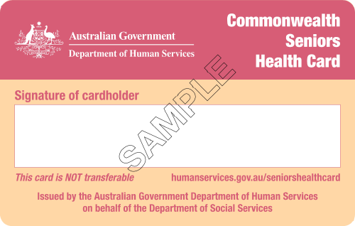 Commonwealth Seniors Healthcard