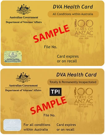 Health care card - Gold card