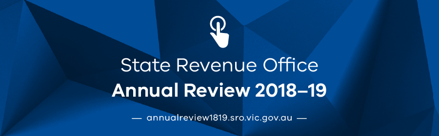 State Revenue Office Annual Review 2018-19