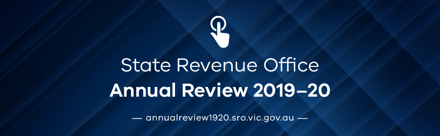 State Revenue Office Annual Review 2019-20