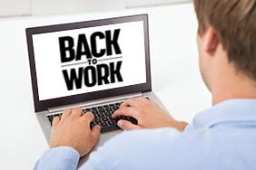 Learn more about Back to Work with our webinars